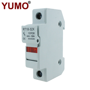 RT18-32X Series Solar PV DC Thermal Fuse 500V Fuse Holder