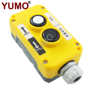 LAY5-EPB2 IP54 2 Holes Industrial Crane Remote Push Button Control Box