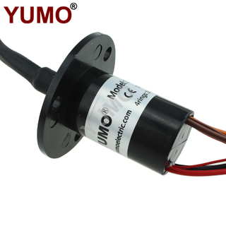 YUMO SRC022-24-4P/6S 10rings 2A Electrical Contacts Capsule Slip Ring