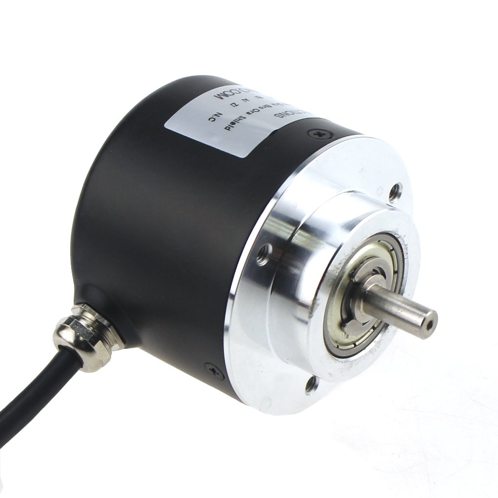 ISC5806-401-1000-BZ1-524-L Outer diameter 58mm Solid Shaft Incremental Optical Rotary Encoder