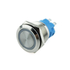 YUMO Hot Sale 19mm 250V LED Momentary Latching Push Button Switch