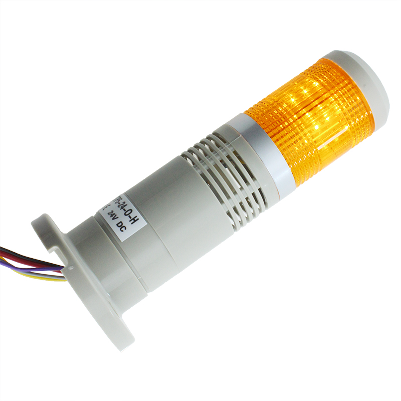 STP5-24-O-H 1 Layer Orange LED Warning Light DC 24v Tower Light Buzzer