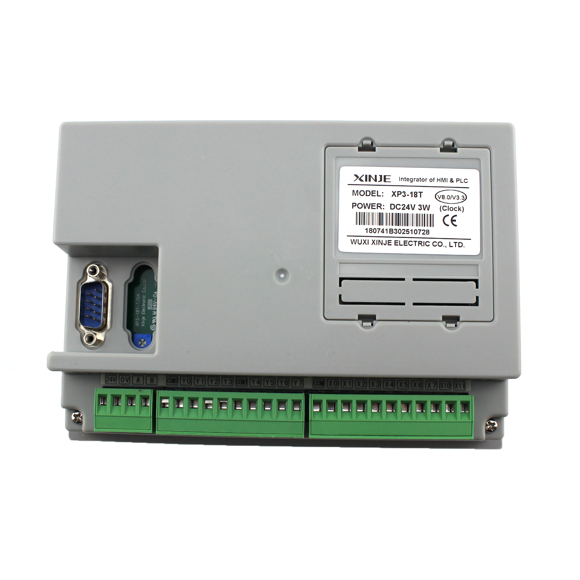 "New For Xinje 3.7/"" LCD Integrator Of HMI /& PLC XP3-18R HMI  DC24V 3W"