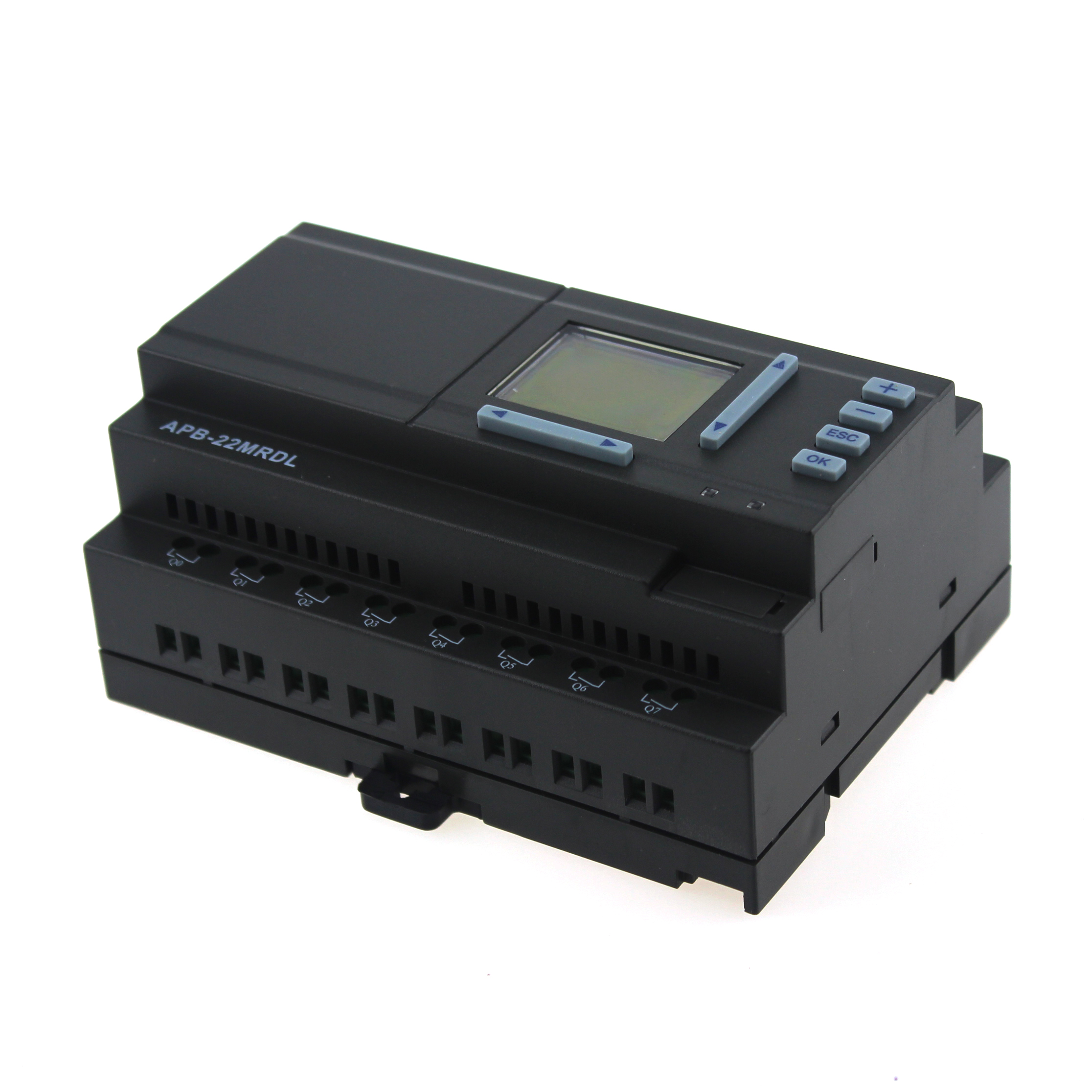 APB-22MRDL APB Series Programmable Logic Controller PLC with LCD