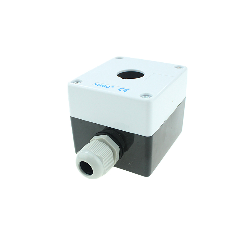 22/25 Mm IP40/54 Button Box for Single Hole