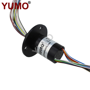 YUMO 24rings 24Amps Miniature Type Slip Ring Capsule Slip Ring