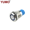 YUMO 12mm ON OFF Waterproof Small Switch Metal Self-locking Push Button