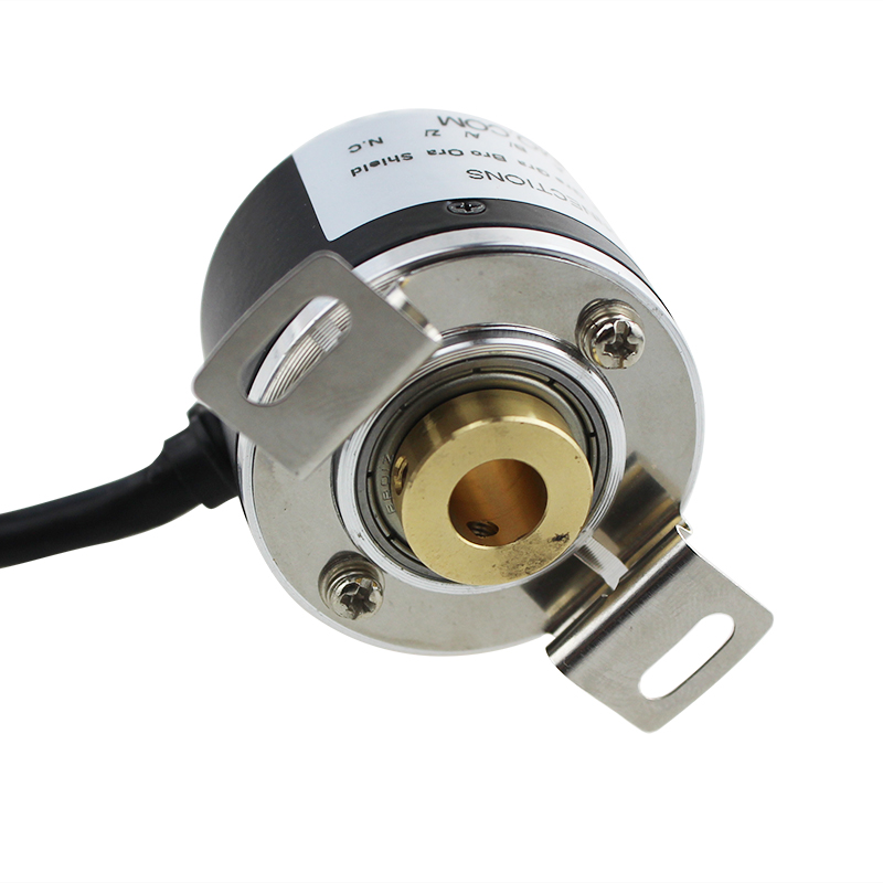 IHA3808 2000ppr Cable Lead Out at Side Full Hollow Encoder