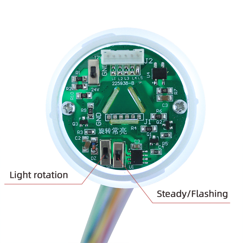 STP6 Series New Multi-layer Detachable Warning Light with Buzzer