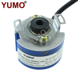 YUMO 2Pairs of magnetic pole hollow shaft rotary encoder