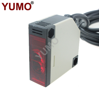 YUMO G50-3A30PC PNP NO+NC Output Photoelectric Switch Sensor