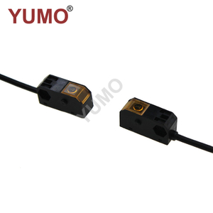 YML-TM15T NPN NC plastic square shape photoelectric Through Beam Switch Sensor