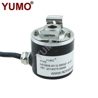 360ppr Industrial Optical Rotary Incremental Hollow Shaft Encoder