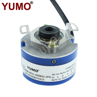 YUMO Uvw Phase Hollow Shaft Rotary Encoder for Servomotor