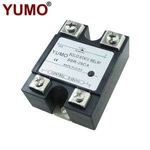 SSR-25DA 25A Load Current DC To AC Solid State Relay