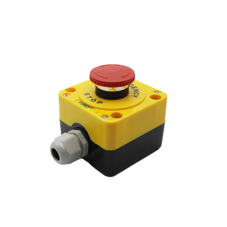 40mm Red Mushroom Head Push Button Switch Control Box