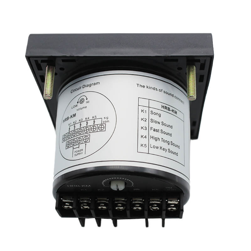 HRB-KM Panel Type Multi Tone Alarm