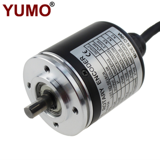 EP50S8 Diameter 50mm 360ppr IP64 Shaft Type Absolute Rotary Encoder