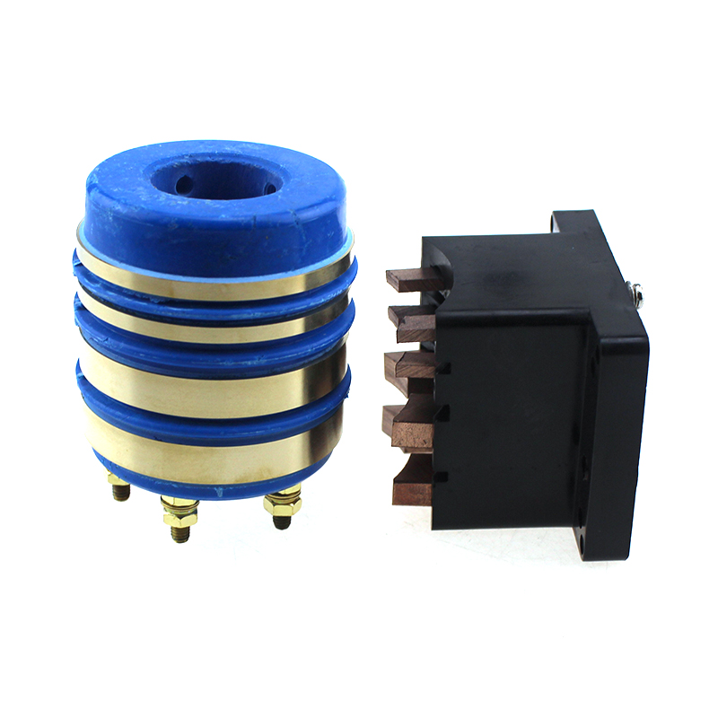 SRST25H5458-4T Slip Ring Rotary Joint Carbon brushes